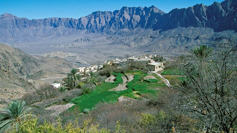 Monts Hajar, Plateau de Sayq, Oman