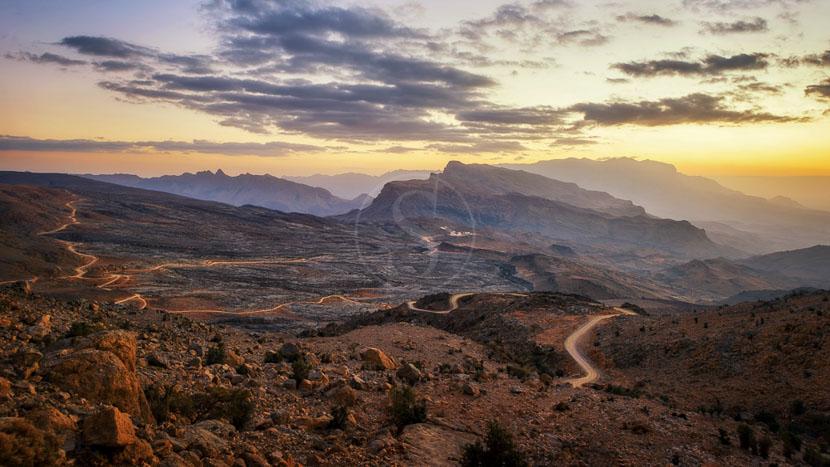 Monts Hajar, Monts Hajar, Oman