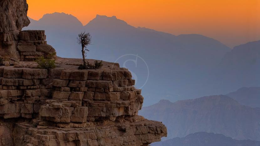 Monts Hajar, Paysage d'Oman