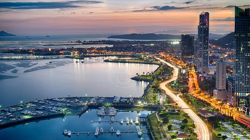 Visite de Panama City, Panama City, Panama
