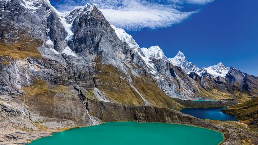 La cordillère Blanche, Cordillère blanche, Pérou