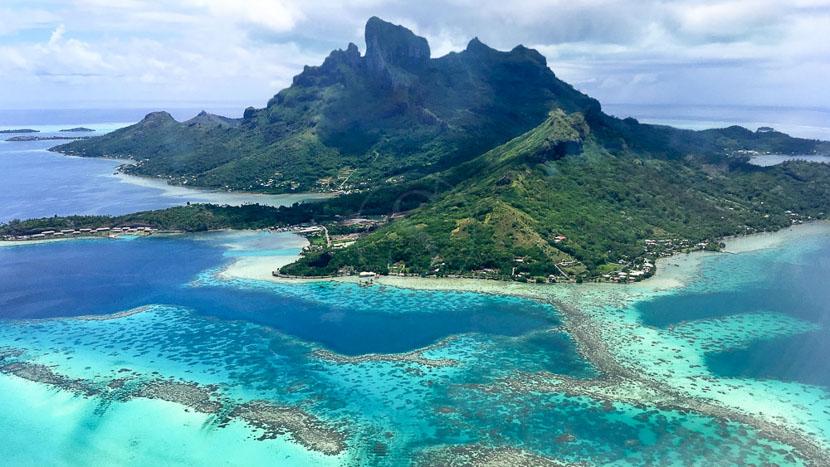 Ile de Bora Bora, Île de Bora Bora, Polynésie Française