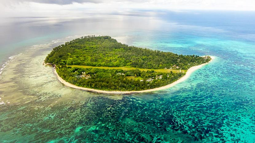 Denis Island, Denis Island Private Lodge, Seychelles