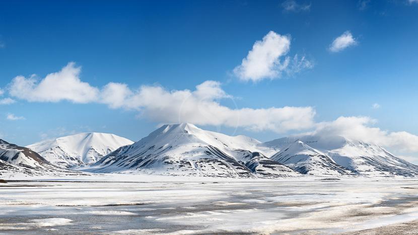 Spitzberg, Isfjorden, Archipel du Spitzberg © Shutterstock