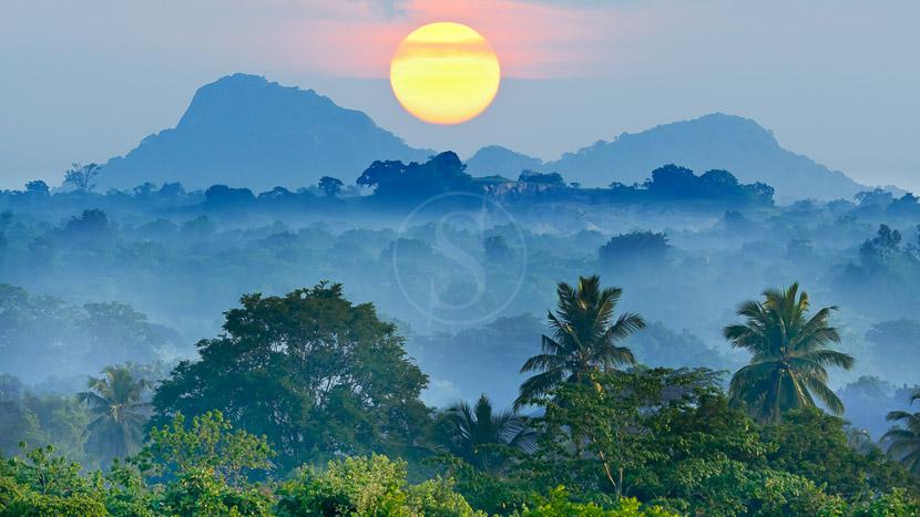 Sri Lanka, Lever du jour au Sri Lanka
