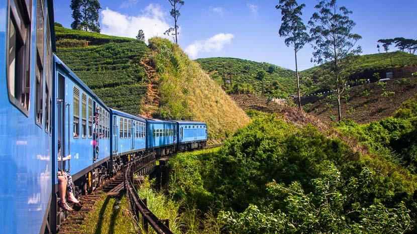Kandy, Train de Nuwara Eliya à Kandy, Sri Lanka