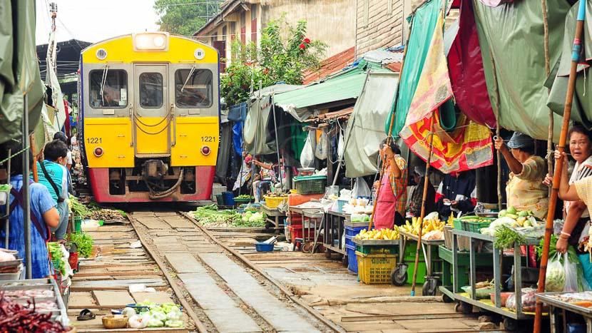 Bangkok, Ambiance de Bangkok, Thailande © Shutterstock
