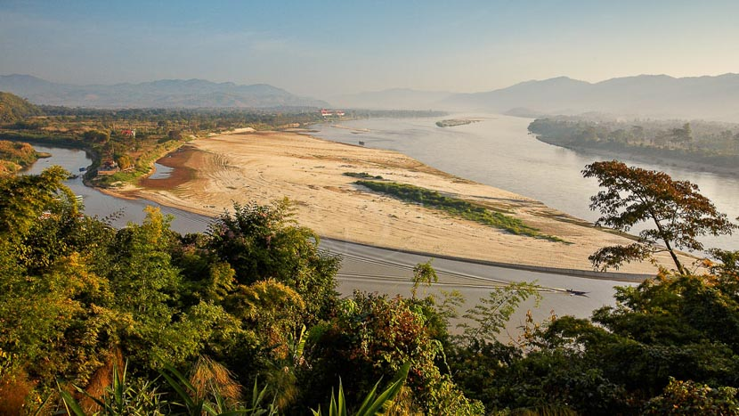 Triangle d'or, Triangle d'or, Thailande © Shutterstock