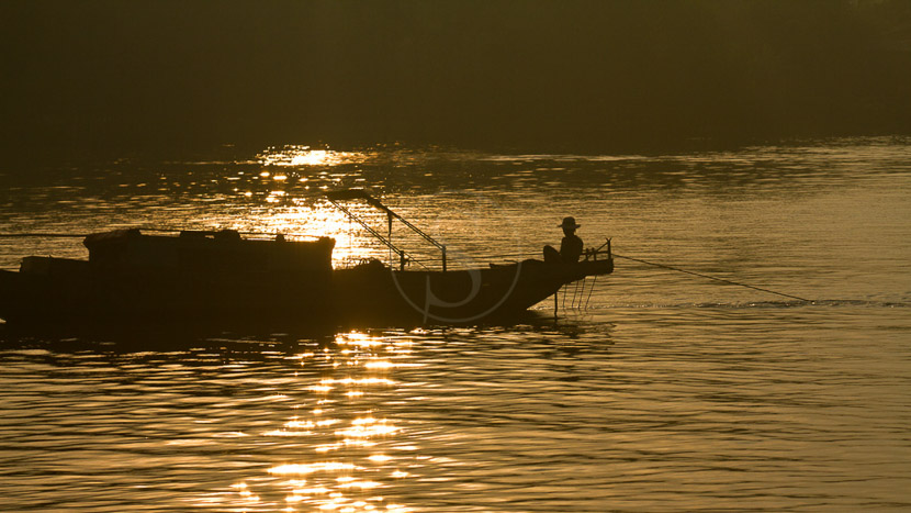 Delta du Mékong, Lever du jour sur le Delta du Mékong, Vietnam