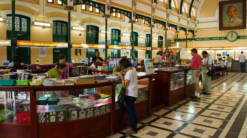 Saigon, Poste centrale de Saigon, Vietnam